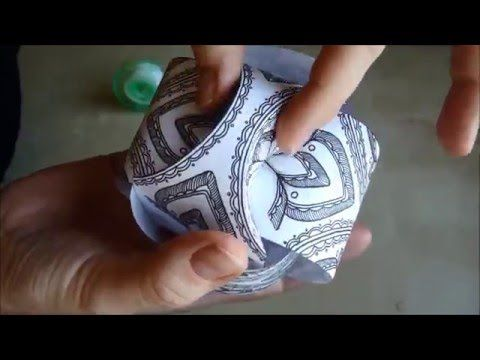 Hattifant - Triskele Paper Balls TUTORIAL - YouTube