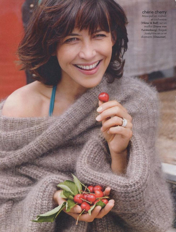 sophie marceau elle France july 2010