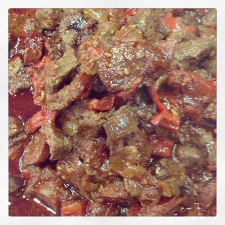 Chilli Beef with Chorizo