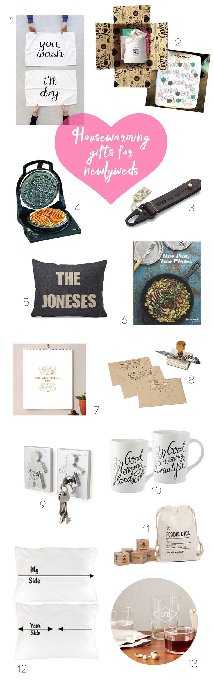 Practical Wedding Gifts For The Newlyweds: 25+ Best Ideas About Gifts For Newlyweds On Pinterest