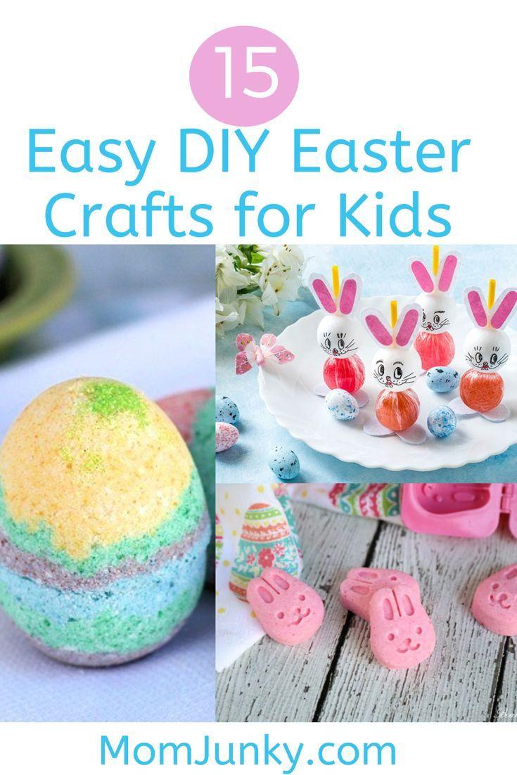 15 Easy Diy Easter Crafts For Kids Diy Gift Ideas Easter Crafts