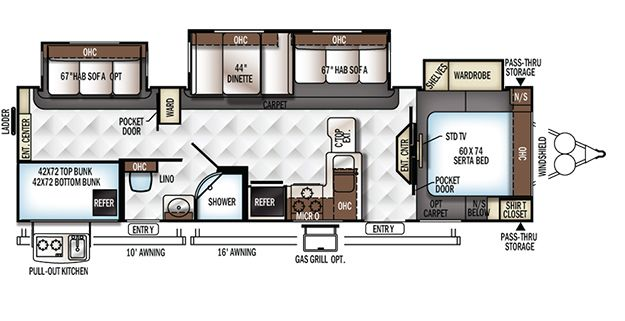 One of our favorites...  Rockwood Signature Ultra Lite Fifth Wheels / Travel Trailers by Forest River RV