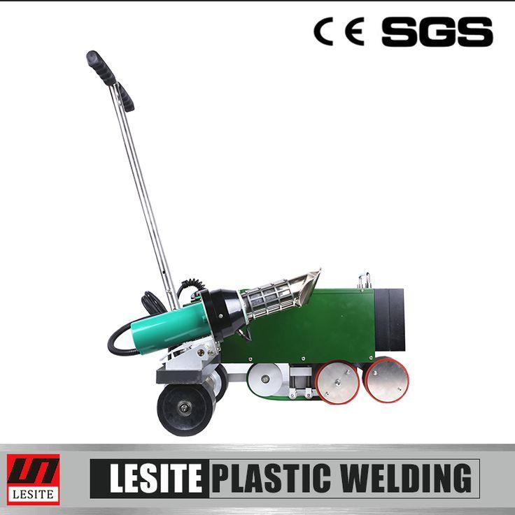 Hot sale Lesite LST-WP1 TPO welder for welding roof waterproofing geomembrane hot air welding machine