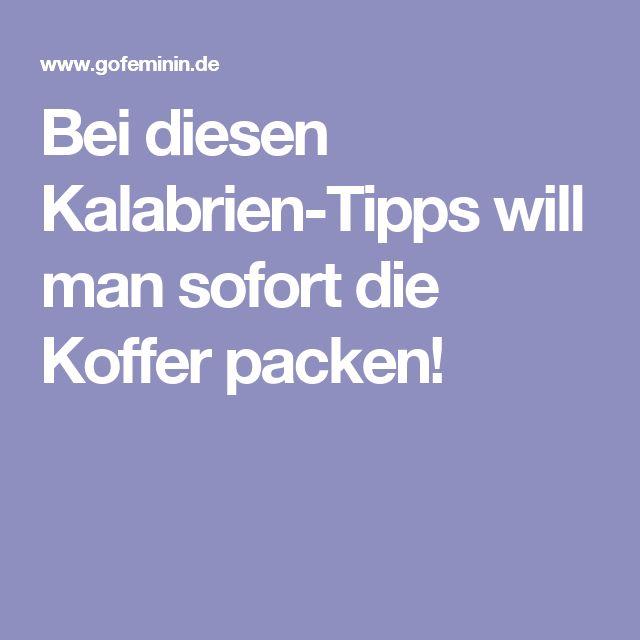 Bei diesen Kalabrien-Tipps will man sofort die Koffer packen!