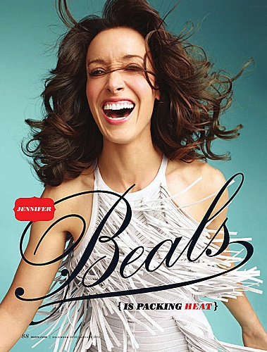 Jennifer Beals x MORE magazine