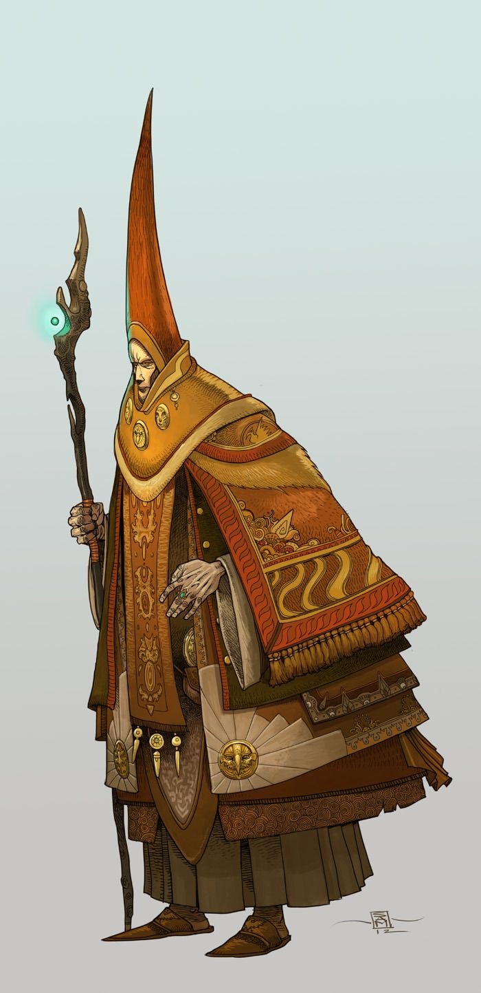 A Standard Gateway Wizard by Muttonhead:
