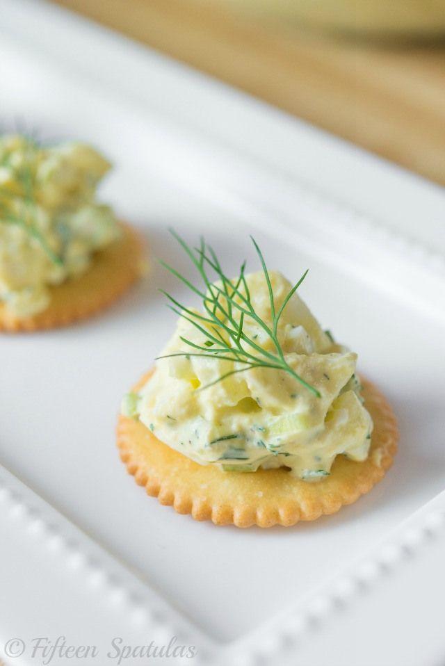 The Best Egg Salad Recipe from @Fifteen Spatulas | Joanne Ozug