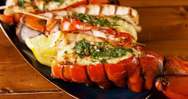 الاستاكوزا بالفرن طريقة عمل الاستاكوزا 2021 In 2021 Grilled Lobster Tail Lobster Recipes Tail Grill Lobster Tail Recipe