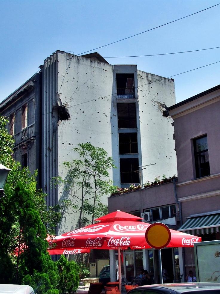 Mostar - kolejne zniszczenia