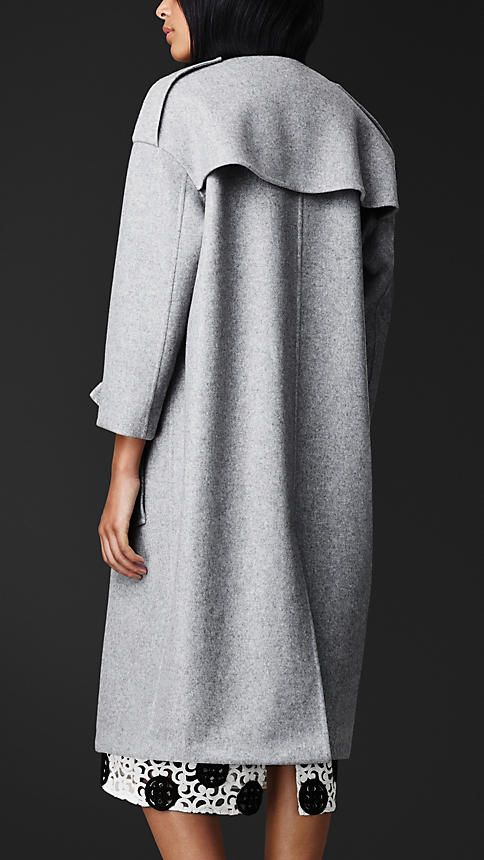 Double Cashmere Trench Coat | Burberry