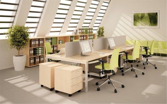 Art tanie #meble biurowe  #ART to #biurka na nodze metalowej doskonale nadające się do aranżowania biur o różnych powierzchniach. Bardzo stabilna konstrukcja. Cztery metalowe nogi połączone metalowymi belkami pod blatem biurka zapewniają znakomitą sztywność produktu.