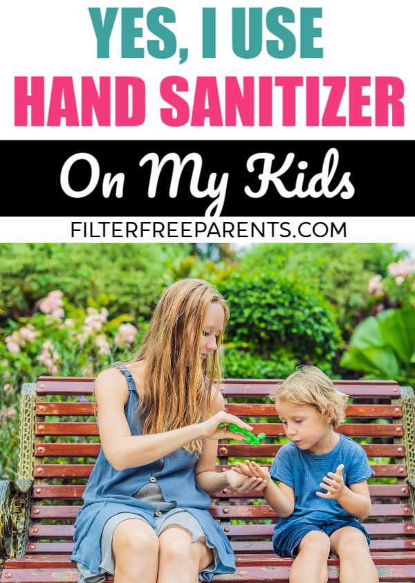 Is Hand Sanitizer Ok To Use On Kids There Is Conflicting