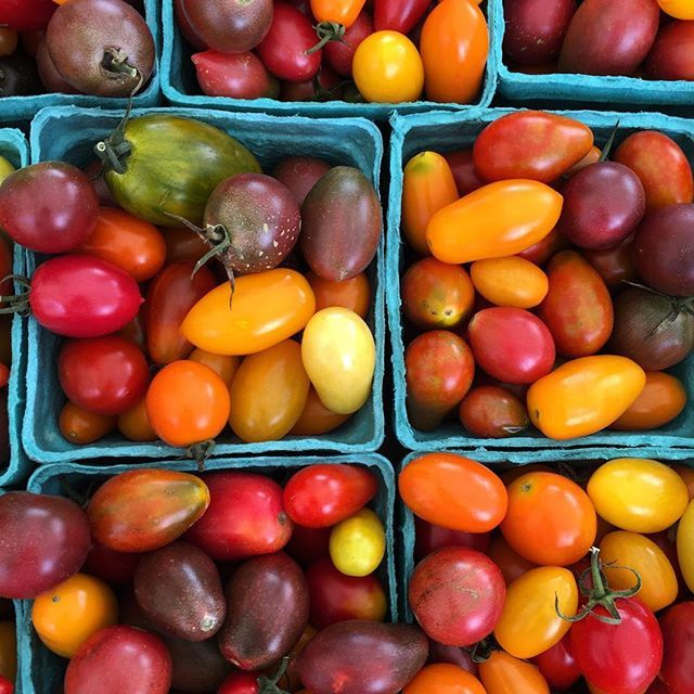 Farmers Market Heirloom Cherry Tomatoes - Perfect for Spring Salads!