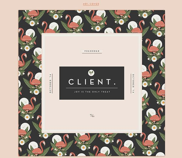 JOY IS THE ONLY TREAT on Behance