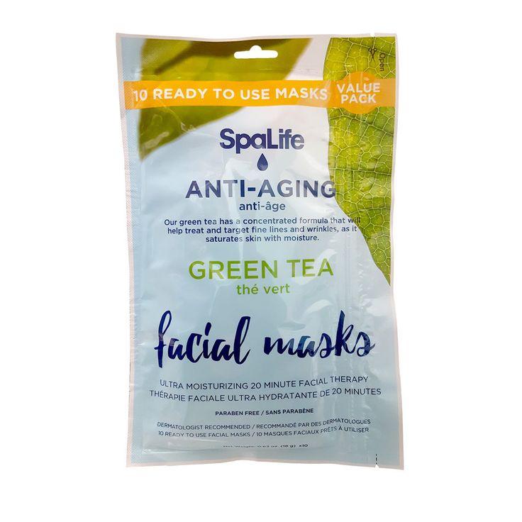 My Spa Life Tea Anti-Aging Facial Masks