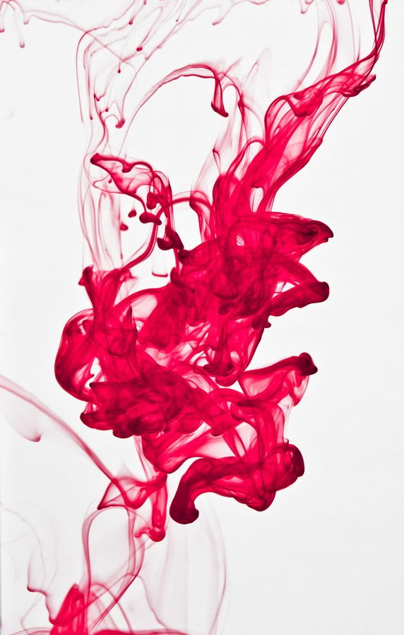 abstract ink in water Reference to research involving PET.   Also reminds me of blood. Blood, psychopath.