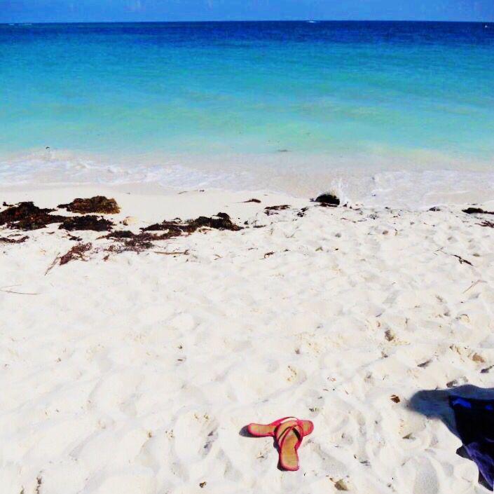 Bahamas  whitest beach I have ever seen