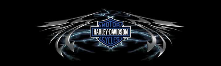 Harley Davidson Lightning Wing Rear Window Graphic Part #RWGHD131 | See thru Harley Davidson Rear Window Graphics & Harley Davidson Window Decals