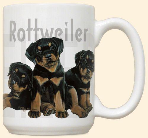 Rottweiler Puppies Mug