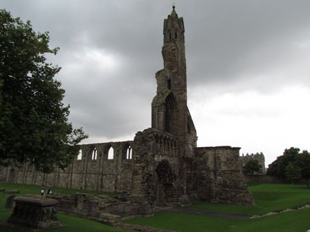 The ruins in St Andrews, Fife