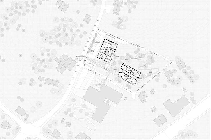 OPERASTUDIO - Competition - Home for elderly and social housing #Switzerland #groundfloor