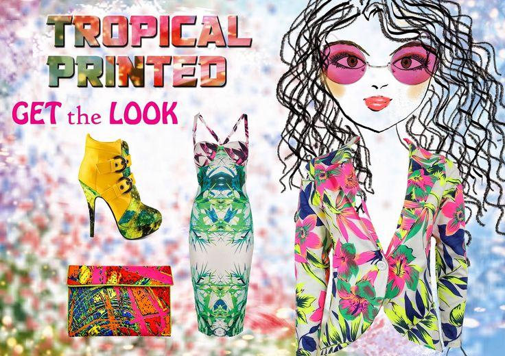 Tropical Printed