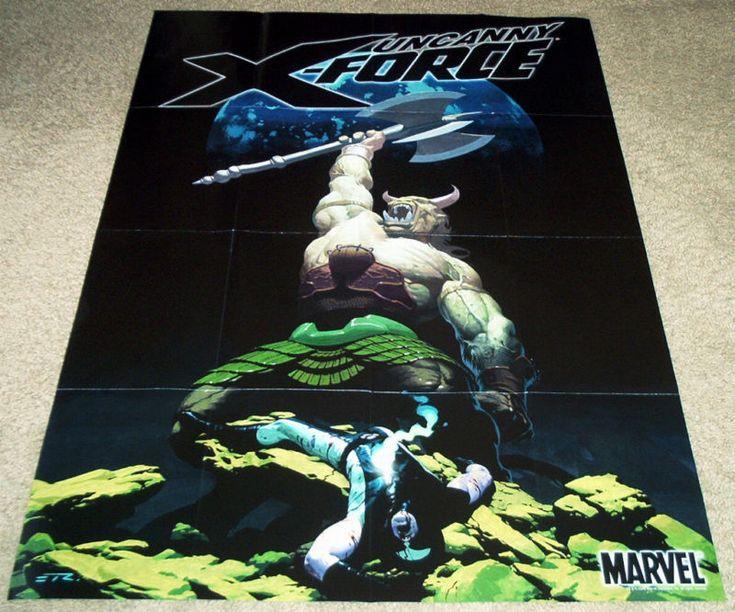UNCANNY X-FORCE POSTER MARVEL DEATH OF WOLVERINE X-MEN ORIGIN WEAPON X MUTANTS