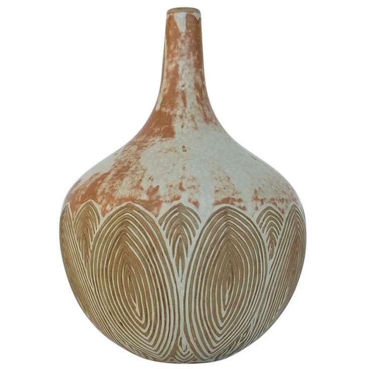 Axel Salto Vase for Royal Copenhagen 1930s  #ModernsPIN