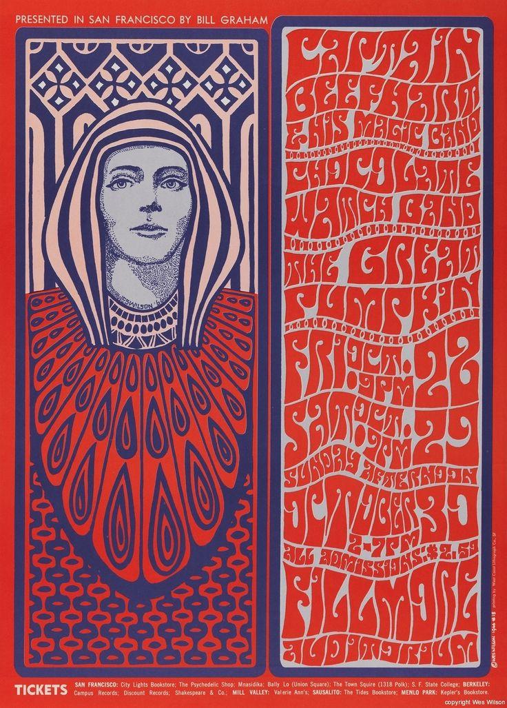 Poster Art - Wes Wilson