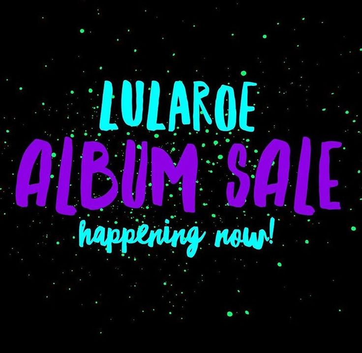 Album launch is still open until 7pm cst today! Find us on Facebook at LuLaRoe Jess and Lindsay Prall!