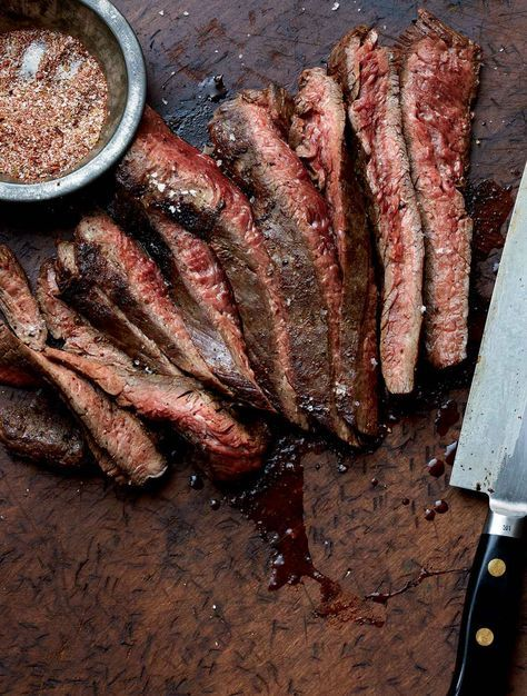 Grilled Flank Steak Recipe (There's not always time for a marinade. But there is always time for a dry rub.)