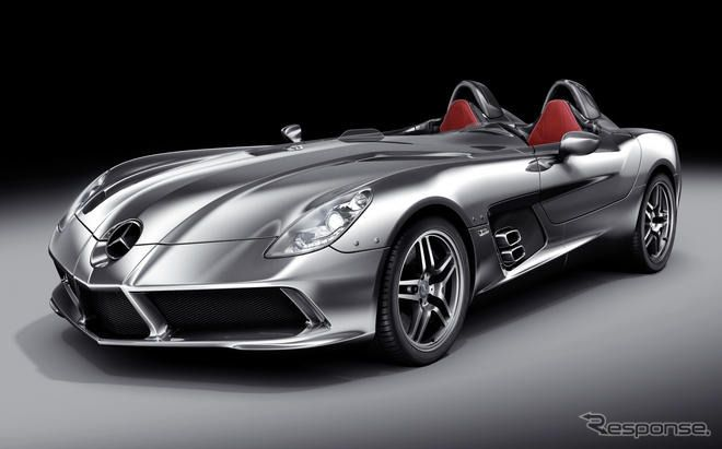 【写真蔵】メルセデス SLR マクラーレン スターリングモス…機能性も高いスピードスター