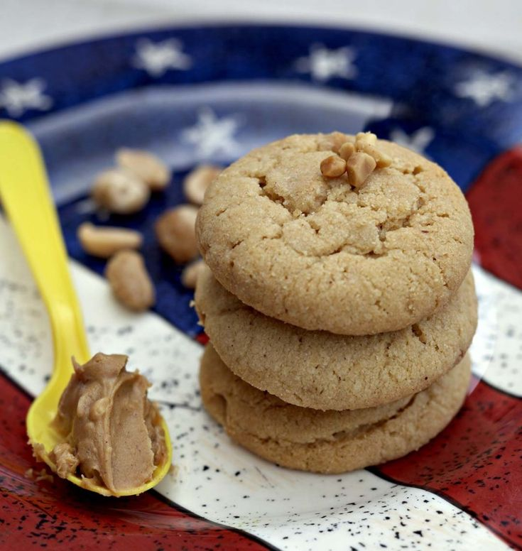 Cookies au beurre de cacahuètes - les meilleures recettes de cuisine d'Ôdélices