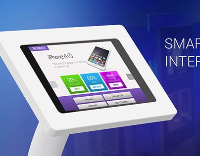 """Check out new work on my @Behance portfolio: """"Smart kiosk interface design"""" http://be.net/gallery/33830084/Smart-kiosk-interface-design"""