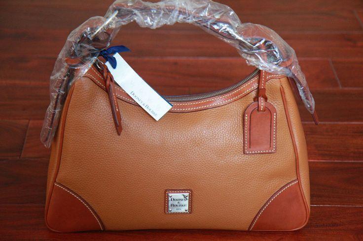 Dooney Amp Bourke Leather Harrison Hobo R638c Ca New Bag