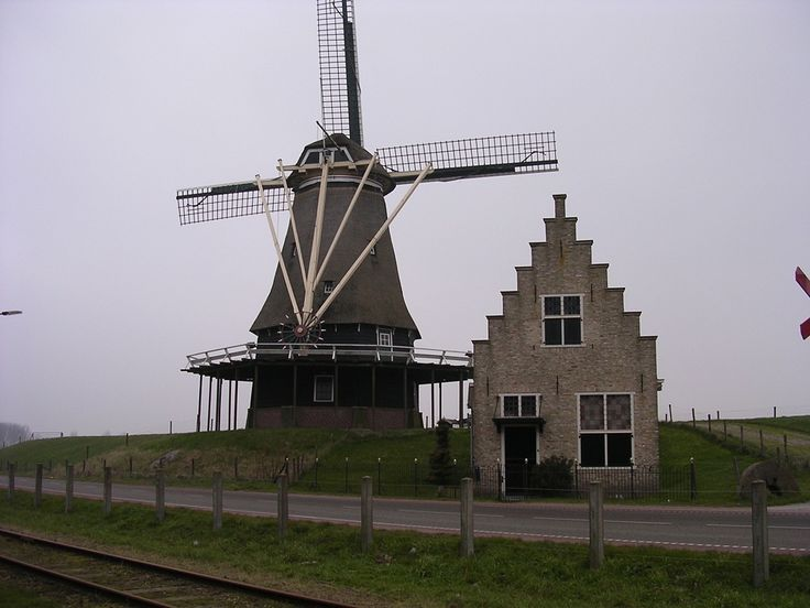 De molen in Medemblik