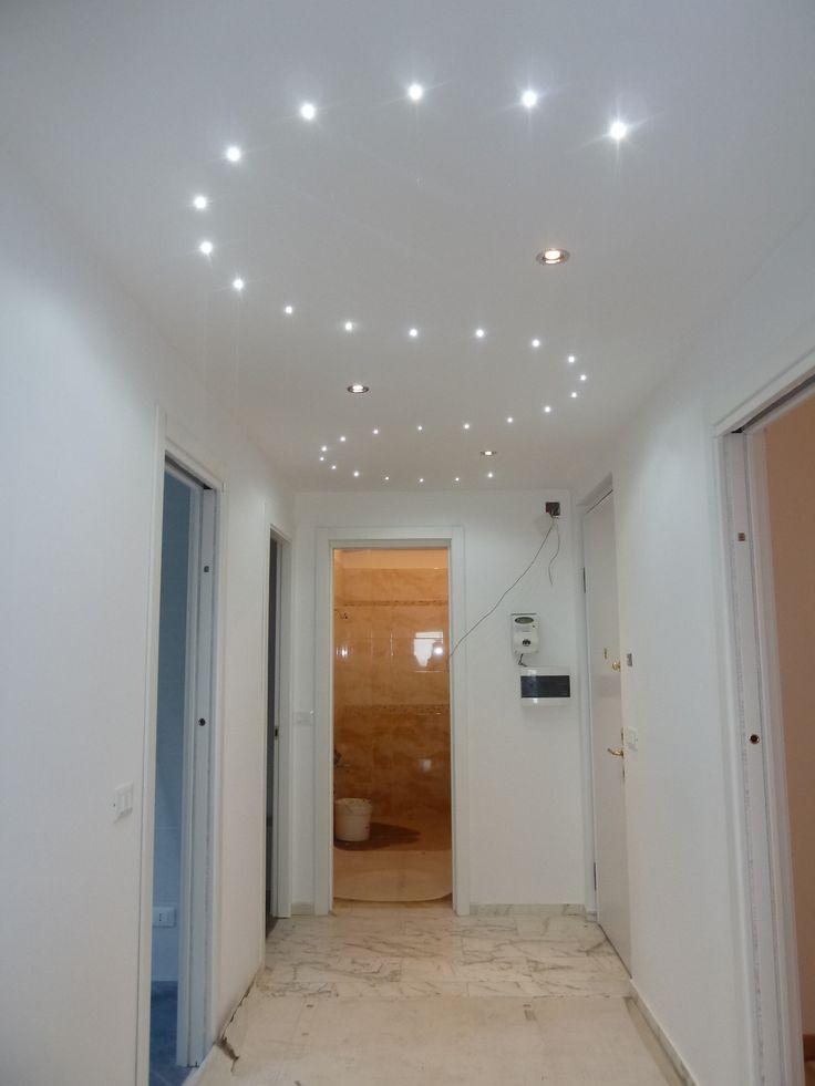 Illuminazione controsoffitto in cartongesso sr32 regardsdefemmes - Illuminazione ingresso casa ...