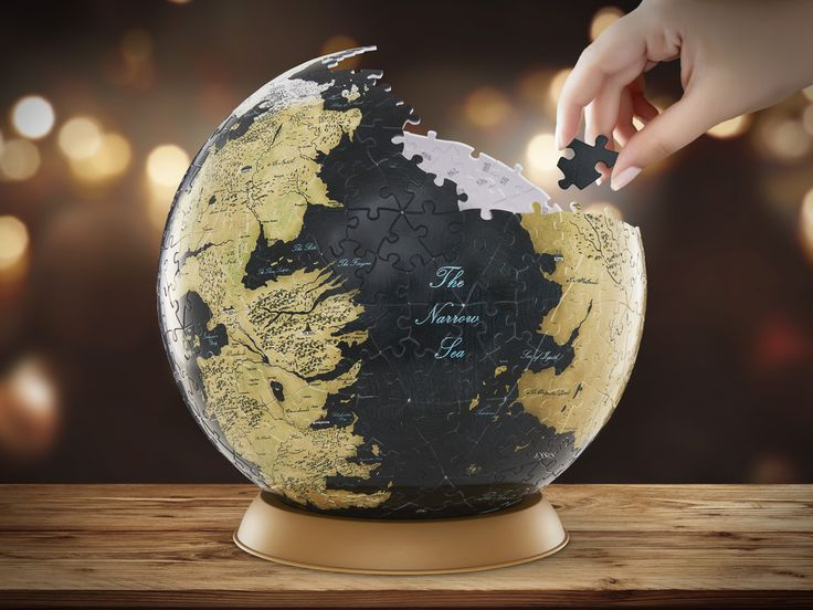 Game of Thrones Globe Puslespil 339