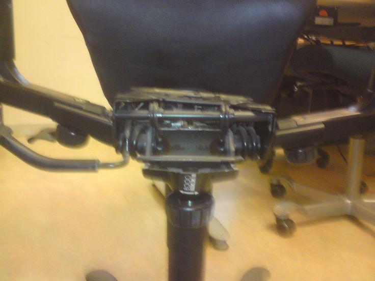 Kinnarps farliga stol har till nu gett mig två svåra operationer