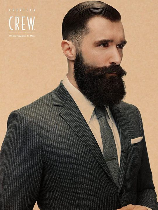 "American Crew 2015: to beard or not to beard? - Sir Wylde says: ""Beard."""