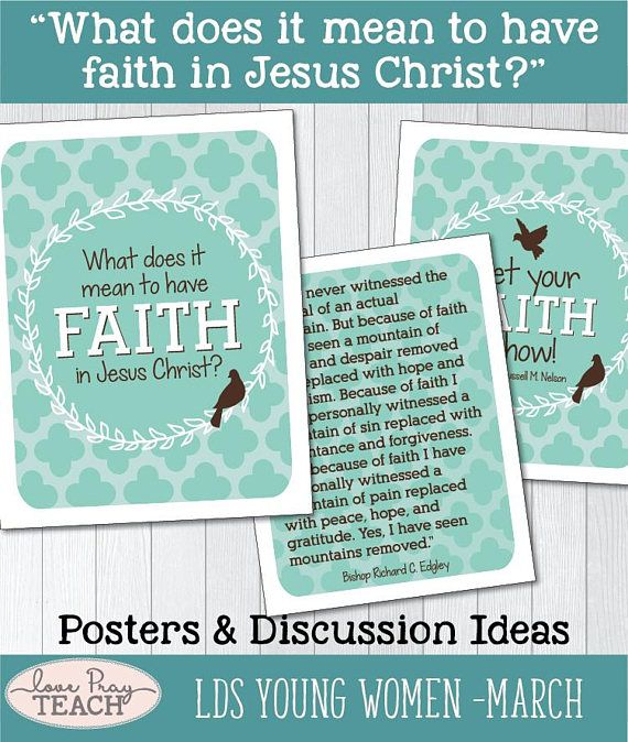 1017 Best LDS Young Women Lesson Helps Images On Pinterest