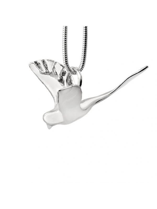 Купить серебряную подвеску Большая птица. Бесплатная доставка по Украине