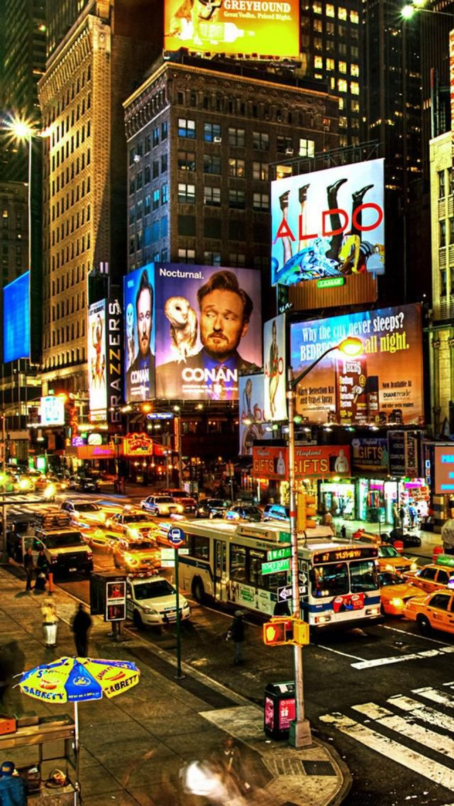Broadway, NYC.I want to visit here one day.Please check out my website thanks. www.photopix.co.nz