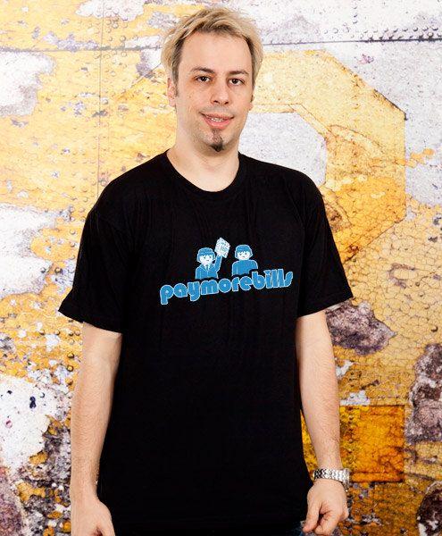 funny tshirt Paymorebills boyfriend Gift mens Tshirt by store365