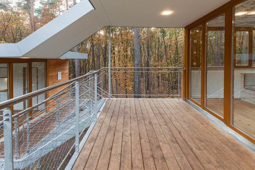 An Experiment in Sustainability: The Treehouse by baumraum Photo
