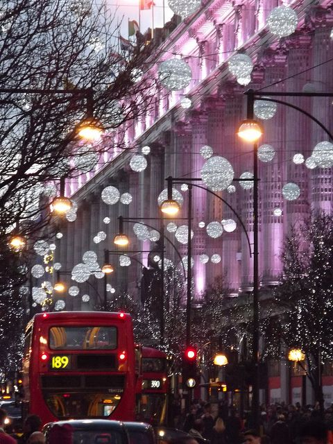 Oxford Street, London, 30 December 2013 by AndrewDixon2812 on Flickr.