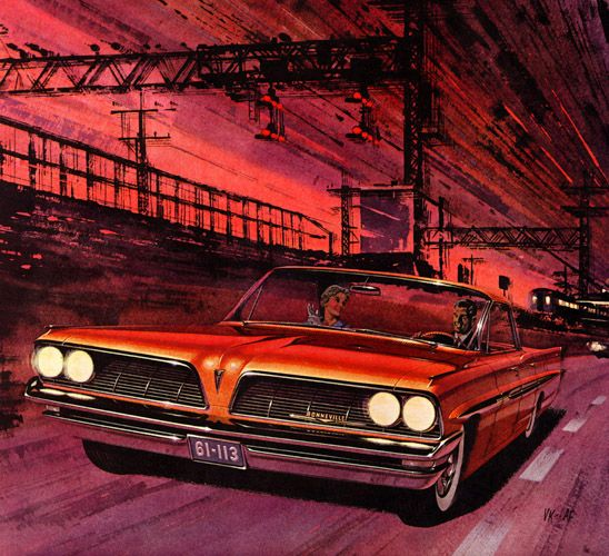 Best Car And Truck Paintings Images On Pinterest Vintage