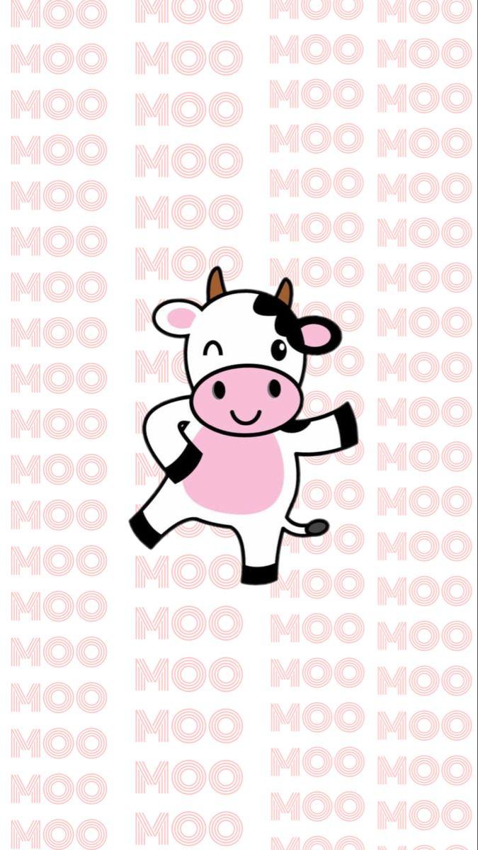 Moo Moo Cow Aesthetic Cow Wallpaper Cow Print Wallpaper Bad Girl Wallpaper