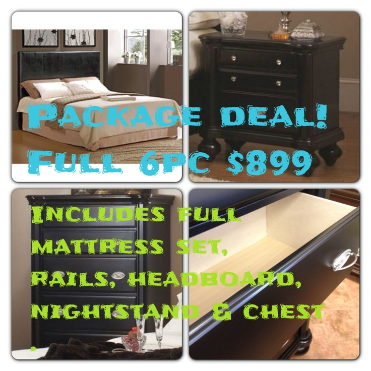 New Package Deal That Includes A Full Mattress Set, Rails