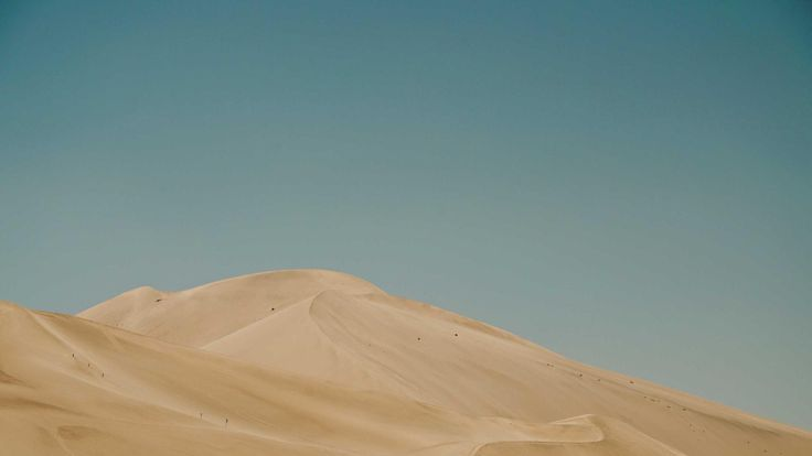 Dunes in the Gobi desert
